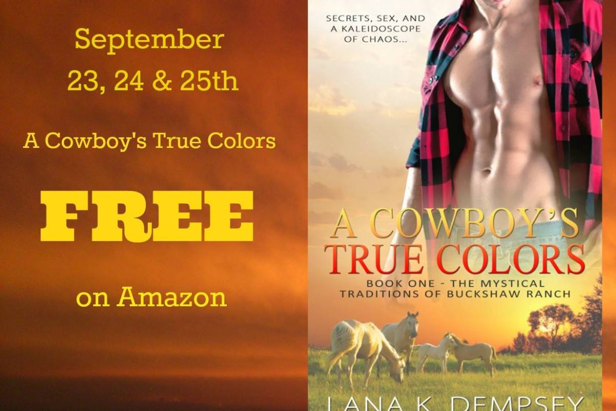 A Cowboy\'s True Colors is free on Amazon This weekend starting TODAY ...
