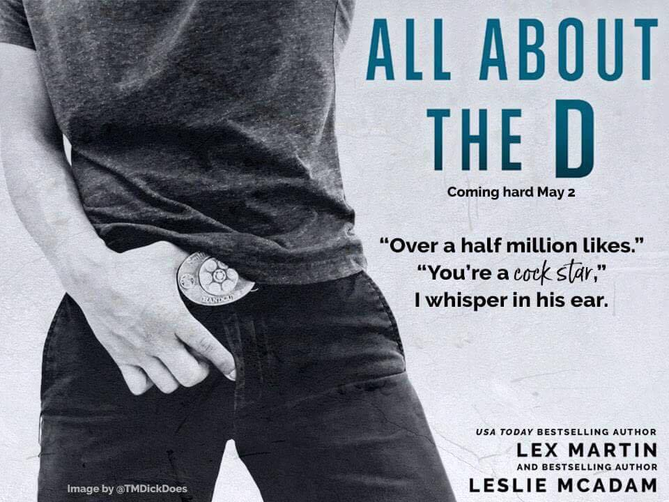 ALL ABOUT THE D COVER REVEAL COCK STAR