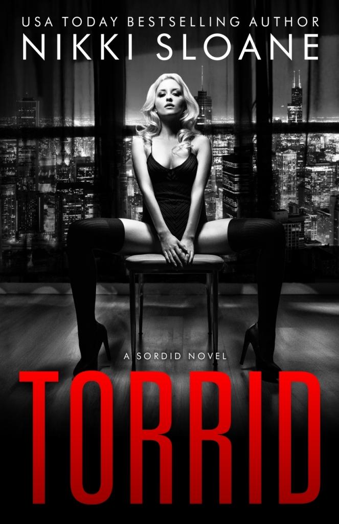 TORRID BOOK COVER