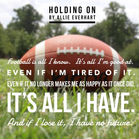 HOLDING ON Football[95320]