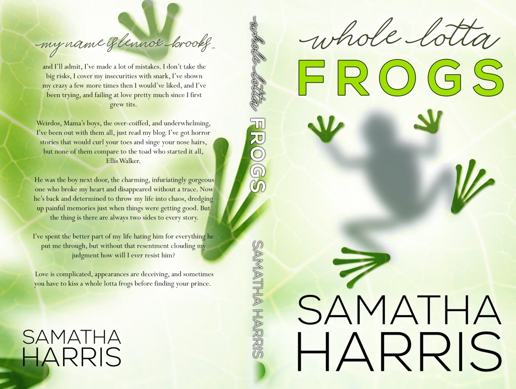 Whole Lotta Frogs Samantha Harris 5x8_BW_300[161266]