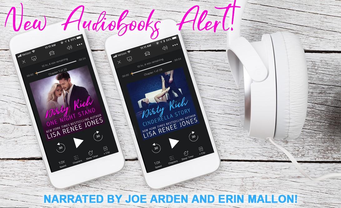 Audiobook Alerts LISA RENEE JONES