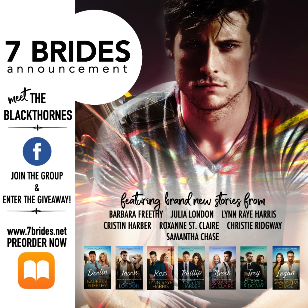 7 BRIDES FOR 7 BLACKTHORNES