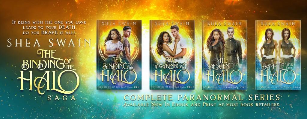 Shea Swain Binding Halo Series Banner