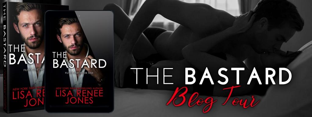 THE BASTARD blog tour banner