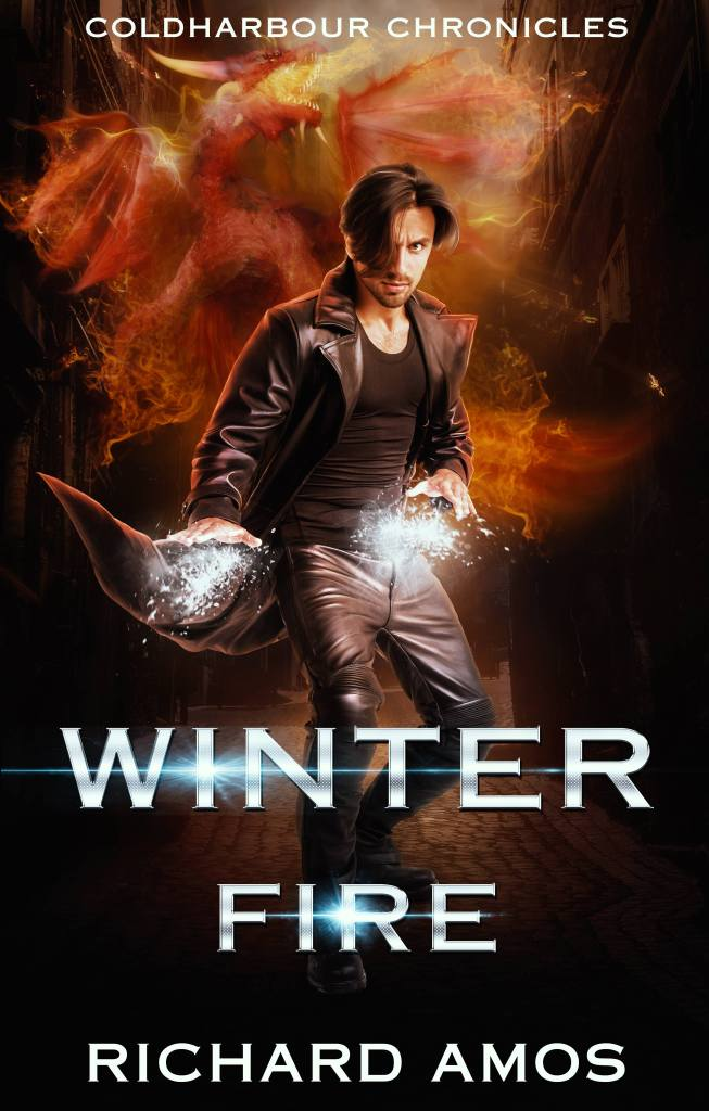 Winter Fire by Richard Amos bc