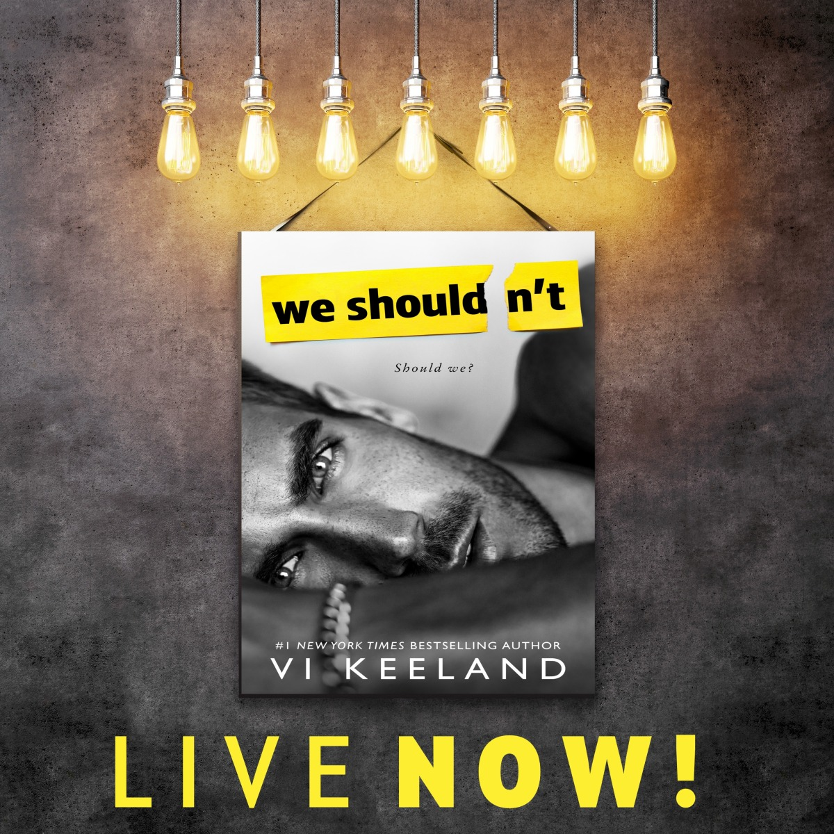 we shouldn't release day live now banner