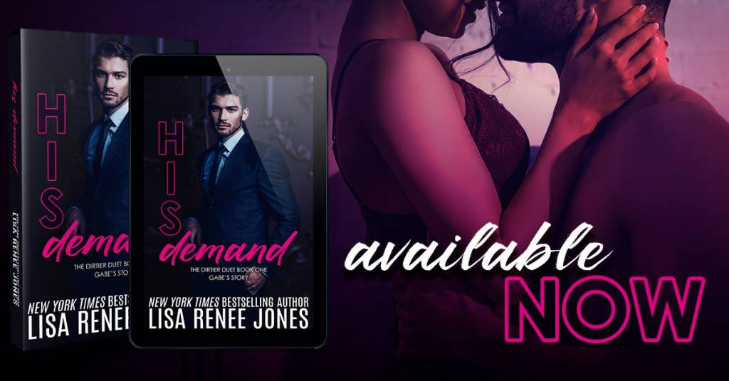 his demand banner