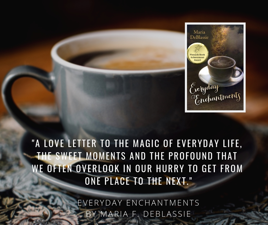 Everyday Enchantments - Virtual Book Tour graphic